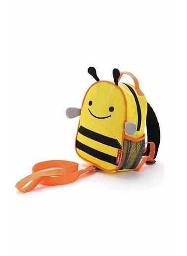 Skip Hop Skip Hop Emniyet Kemerli Sırt Çantası Arı Sarı